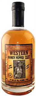 Western Whiskey Honey Pepper 750ml